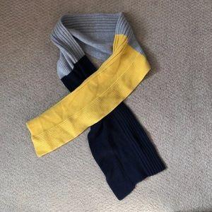 Men's Tri-Colored Scarf